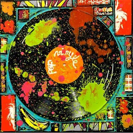 Sophie Costa Pop vinyle (Andy) 36 x 36 cm