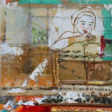 Sablyne La voie du thé 13 x 13 cm