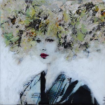 Laura Bofill Ella en plata 25 x 25 cm
