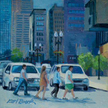 Karl Bronk Pedestrian Crossing 13 x 13 cm