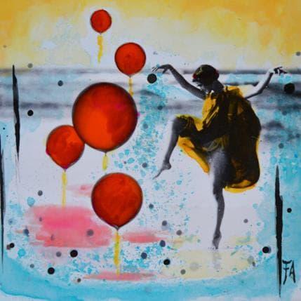 Félix Aberasturi Jeux des nymphes 13 x 13 cm