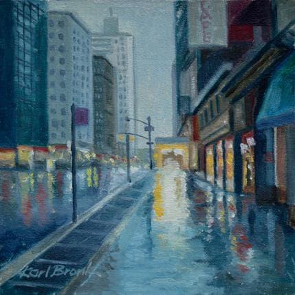 Karl Bronk Rainy Reflections 13 x 13 cm
