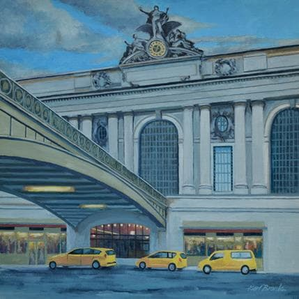 Karl Bronk Grand Central 36 x 36 cm