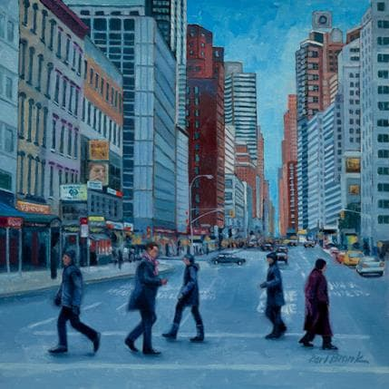 Karl Bronk Crossing Over 25 x 25 cm