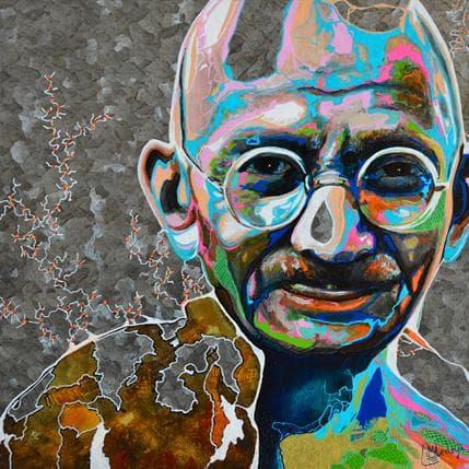 Medeya Lemdiya Gandhi 25 x 25 cm