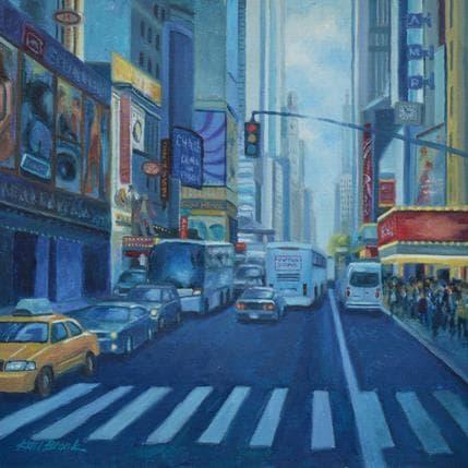 Karl Bronk Shadow of the city 25 x 25 cm
