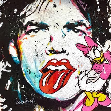 Patrick Cornée Daisy loves Mick Jagger 36 x 36 cm