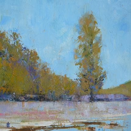 Jean David Alone the river 25 x 25 cm