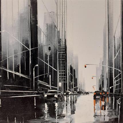Maurizio Galloro Immersion urbaine 13 x 13 cm