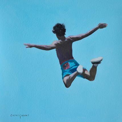 Sergi Castignani Jumping 5 25 x 25 cm