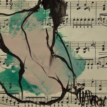 Martine Chaperon Musique 1 13 x 13 cm
