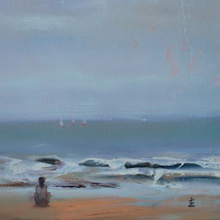 Jean David Solitude II 19 x 19 cm