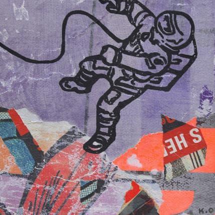 Kano Okuuchi Astronaut 13 x 13 cm