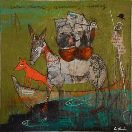 Sylvie Colin Rame, rame # N 19 x 19 cm