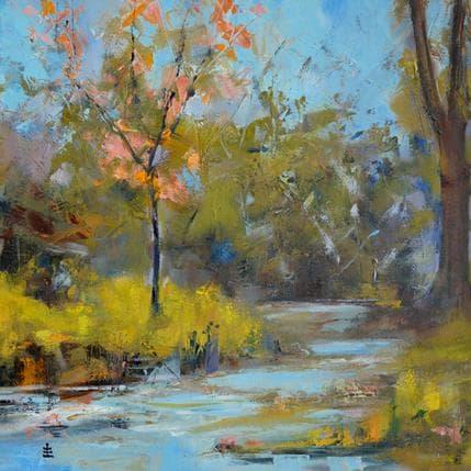Jean David Late autumn 36 x 36 cm