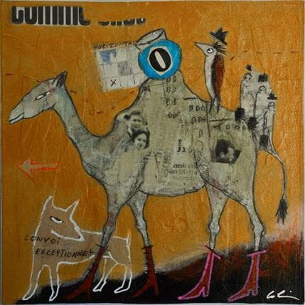 Sylvie Colin O # N 19 x 19 cm