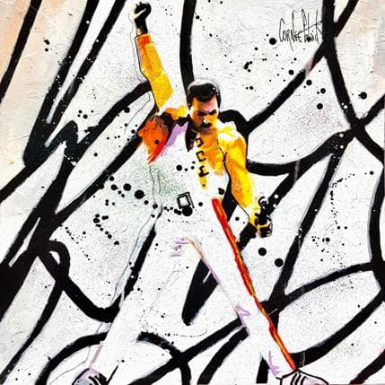Patrick Cornée Freddie Mercury is back 36 x 36 cm