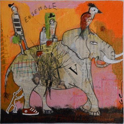 Sylvie Colin Ensemble # N 13 x 13 cm