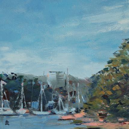 Jean David Harbor Refuge 19 x 19 cm