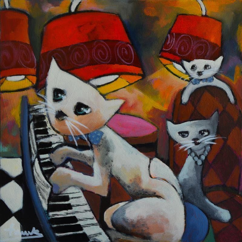 Gaspard au piano