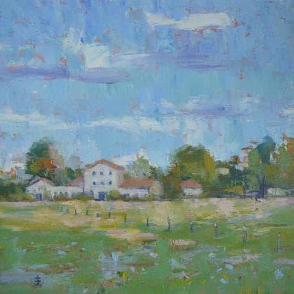 Jean David Farmouse at ligne 36 x 36 cm