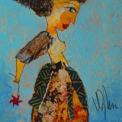 Valérie Depadova Comme une fleur 13 x 13 cm