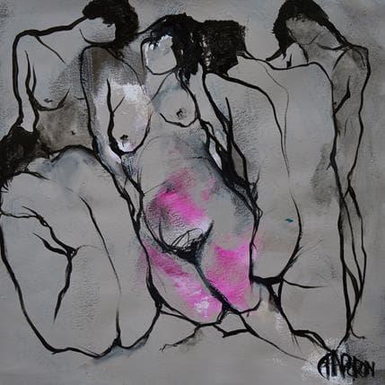 Martine Chaperon Photo de famille 36 x 36 cm