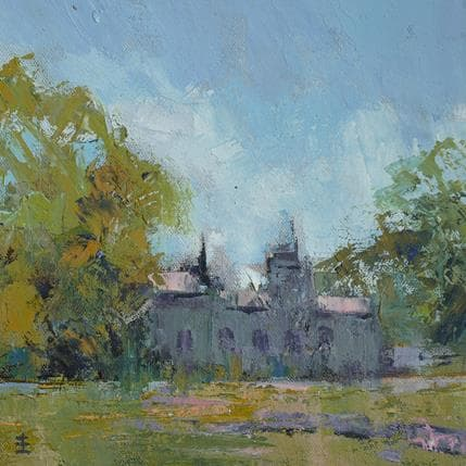 Jean David Abbey Ruins 19 x 19 cm