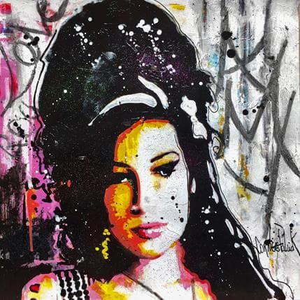 Patrick Cornée I love Amy Winehouse 25 x 25 cm