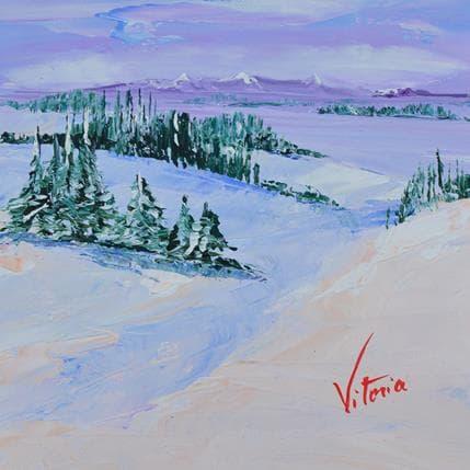 Vitoria Jour de neige 19 x 19 cm