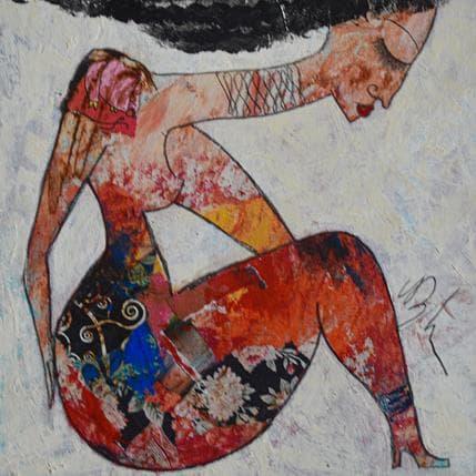 Valérie Depadova Songeuse 19 x 19 cm