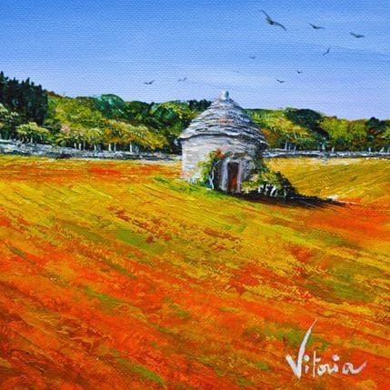 Vitoria L'automne en Bourgogne 13 x 13 cm