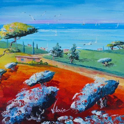 Vitoria Les vacances en Provence 25 x 25 cm