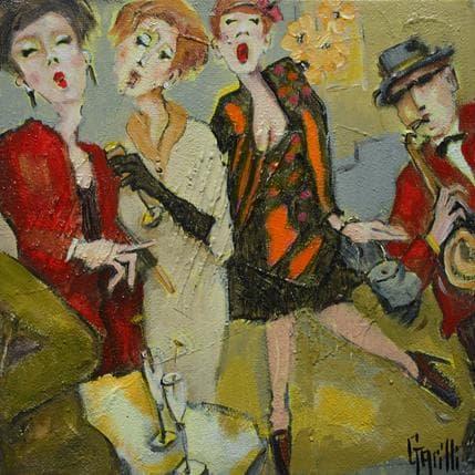Nicole Garilli Green party 2 19 x 19 cm