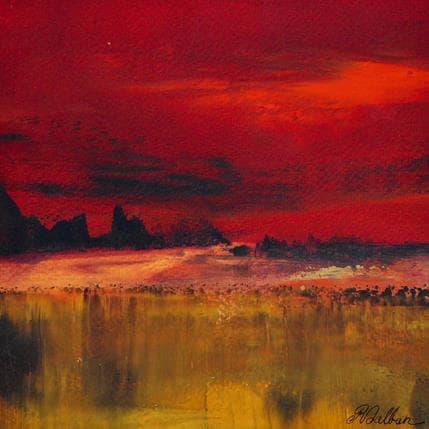 Rose Dalban Nuit magique 19 x 19 cm