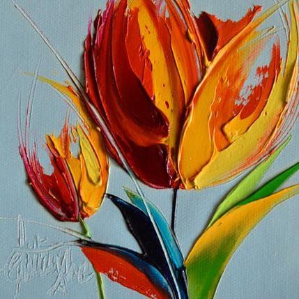 David Fonteyne Tulipe 13 x 13 cm