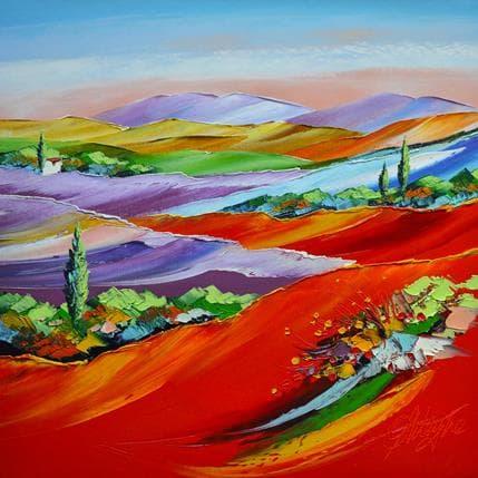 David Fonteyne Par tous les vents du bonheur 36 x 36 cm