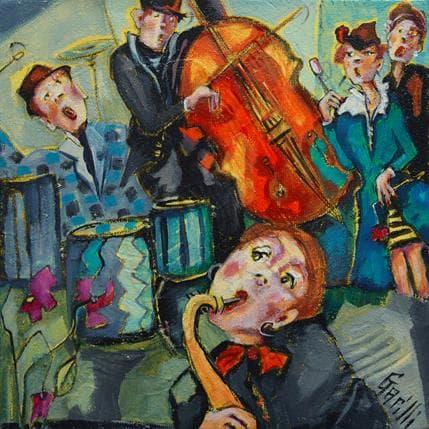 Nicole Garilli Chic musique 19 x 19 cm