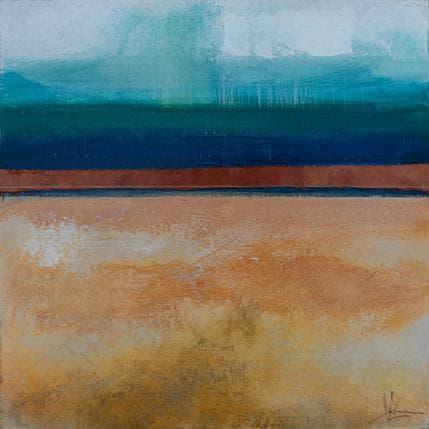 Christian Hévin Abstraction 7970 36 x 36 cm