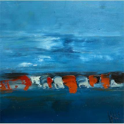 Philippe Hillenweck Outre mer bleu T3 25 x 25 cm