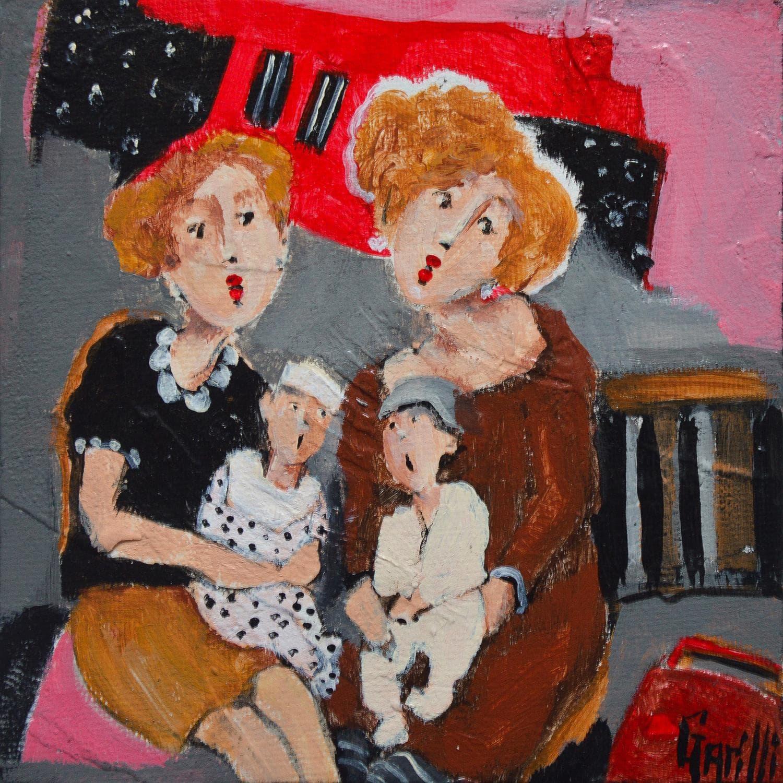 Peintures Petit Format Huilesujet De Discussion Par Nicole Garilli Carre D Artistes