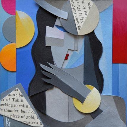 Karl Gustavsen Tahiti 13 x 13 cm