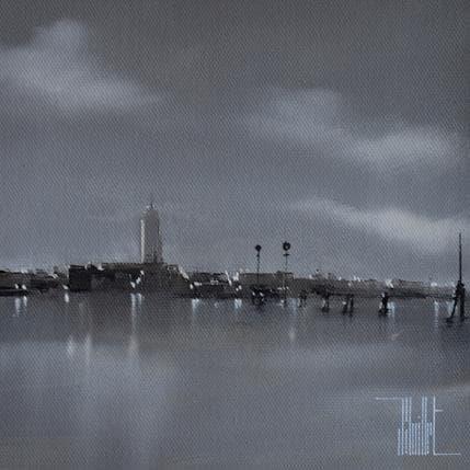 Jérôme Guillet Sur la lagune 19 x 19 cm