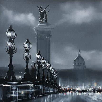 Jérôme Guillet Un soir en ville 36 x 36 cm