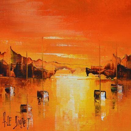 Albert Le Diuzet Composition BZ 24 13 x 13 cm