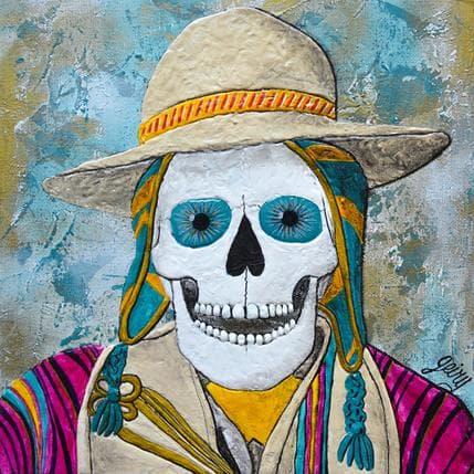 Geiry Hombre boliviano 25 x 25 cm