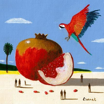 Pascal Lionnet Rouge 13 x 13 cm