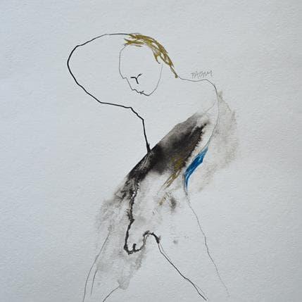 Corine Pagny Geste nu 25 x 25 cm