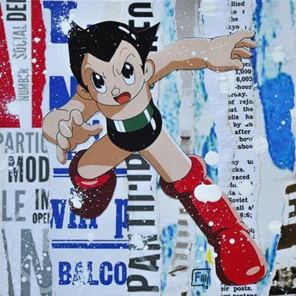 Franck Lamboley Astro boy 19 x 19 cm
