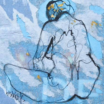Corinne Labarussias La vie en bleu 1 13 x 13 cm